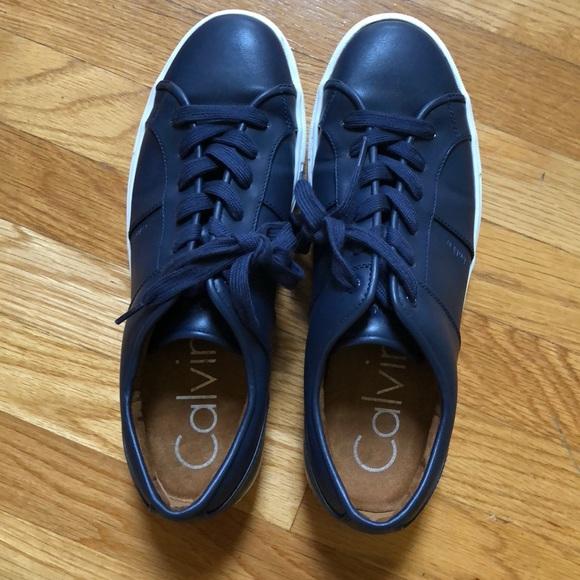 Calvin Klein Blue Mens Sneakers